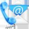 Esempio di contatto telefonico ed email
