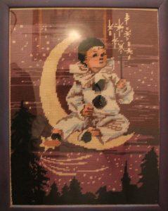 Il Pierrot seduto sulla luna